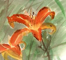 Tiger Lilies by Rami Efal