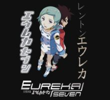 Eureka Seven - Eureka and Renton v2 by Andaimaru
