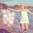 Beach Balloons by shahnachristine
