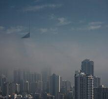 Morning Mist Gold Coast © Vicki Ferrari by Vicki Ferrari