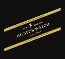 Night's Watch by Johnnie Walker by hunekune