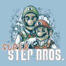 Super Step Bros. by teevstee