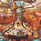 TARDIS interior by phantompunch