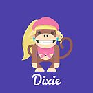 DKR Dixie Kong by gallantdesigns