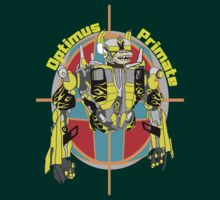 Optimus Primate Target by Chimp Tees