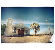 Mojave Desert Church Poster