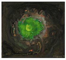 Green hole by Ruth Magnus