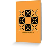 Design 228 Greeting Card