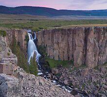 Blushing Falls by Ryan Wright