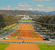 Anzac Parade by peasticks