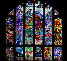 Chester Cathedral Refectory Window by Yampimon