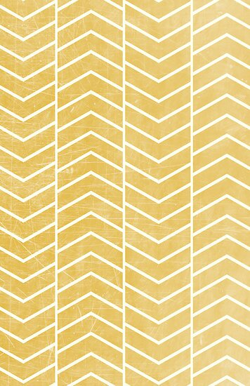 Yellow Chevron by Zeke Tucker
