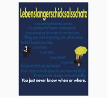 Lebenslangerschicksalsschatz Sticker by slmike82