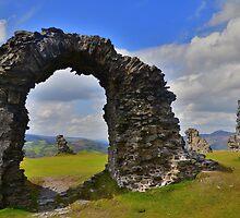 Offa's Dyke Path: Castel Dinas Bran by Rob Parsons