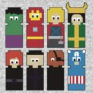 8 Bit Avengers by FandomPeasantry