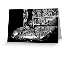 Ferrari Mono Greeting Card