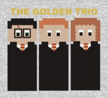 The 8 Bit Golden Trio by FandomPeasantry