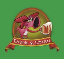 Drink and Draw Logo by colaleo