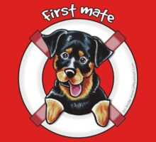Rottweiler :: First Mate {Pocket} by offleashart