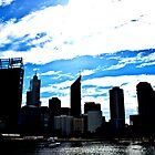 Perth Skyline by Blake Johnson
