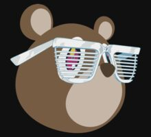Kanye West teddy bear by c0cac0la09