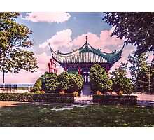 Chinese Tea House, Marble House grounds Photographic Print
