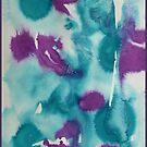 Abstract irises by © Pauline Wherrell