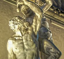 Hercules Beating the Centaur Nessus by GregorDyer