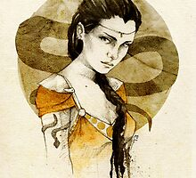 Nymeria Sand by elia, illustration