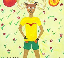 Aries * 21 March - 20 April * element fire * planet Mars&Pluto * fearless, passionate, generous * by Krokokaro