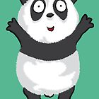 Panda Hug by JBDesigns