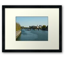 A Trip on the Seine Framed Print