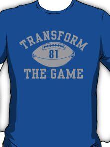 "VICT Detroit Johnson ""Transform The Game #81"" T-Shirt"