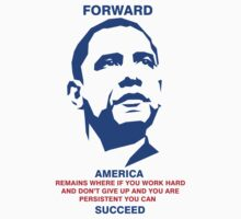 Obama USA Quote Forward by kevin858p