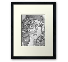 Insight in Black & White Framed Print