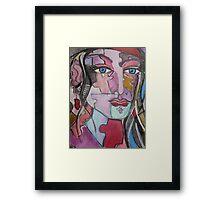 Gently Pieced Together Framed Print