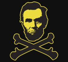 Abraham Lincoln Cross Bones by BUB THE ZOMBIE
