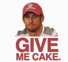 Give Jenson cake! by brilliantbutton