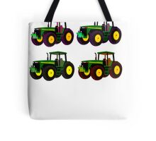 4 tractor fun Tote Bag