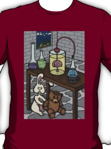 Teddy Bear and Bunny - The Rescue Came Too Late T-Shirt