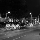 Carriage Ride at Night  by Andrew  Makowiecki