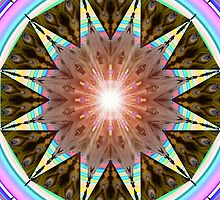 M3D: Art-Deco Cabana Solar Mandala (G0913) by barrowda