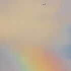 Somewhere Over the Rainbow, Jetliners Fly 9.30.2012 by Lilliana Méndez