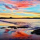 Reflections on a day gone by - Byron Bay by Cheryl Styles