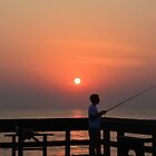 Fishing At Dawn by Dawne Dunton