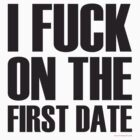 FIRST DATE TEE !!! by homopunkdotcom