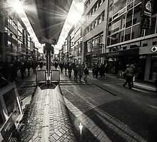 Reflection at the Hohestrasse by Markus Landsmann
