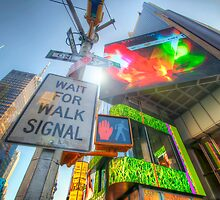 NYC Street Signs by Yhun Suarez
