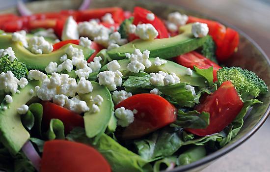 Just a Salad, Please by Lynn Gedeon