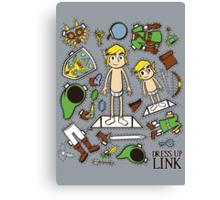 Dress up Link Canvas Print